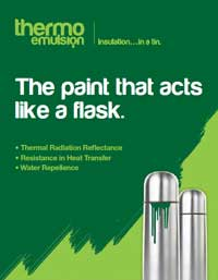 Thermo emulsion product